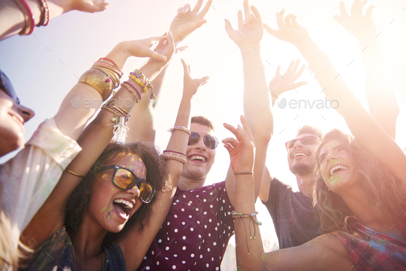 Hope this party never stops - Stock Photo - Images
