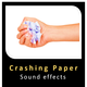 Crushing Paper Sounds