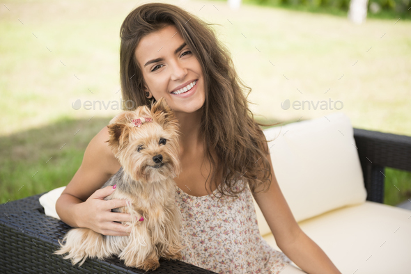 This is day with my little puppies - Stock Photo - Images