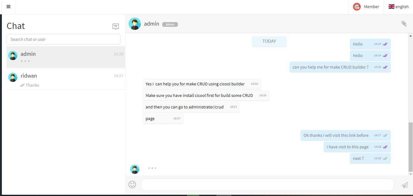 Cicool - Firebase Realtime Chat