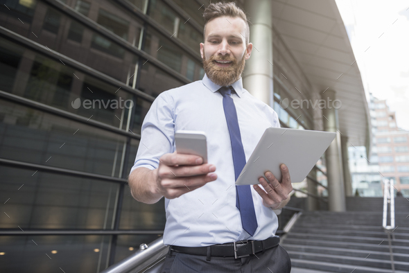 Business needs new technology for proper development - Stock Photo - Images