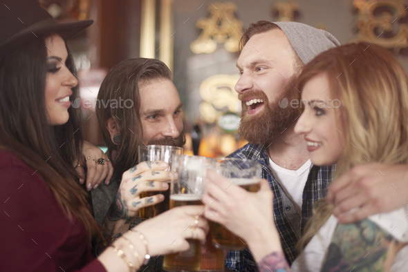 Happy beginning of the weekend - Stock Photo - Images