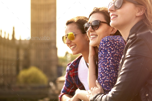 This is our favourite place in the city - Stock Photo - Images