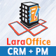Free Download LaraOffice Ultimate CRM and Project Management System Nulled