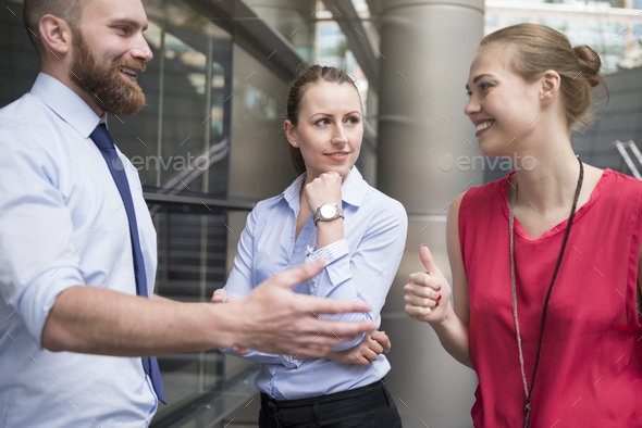 Sharing the vision for future - Stock Photo - Images