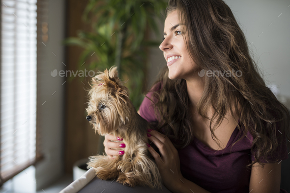 Maybe we should go for a walk? - Stock Photo - Images