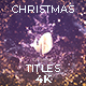 Gold Christmas Titles - VideoHive Item for Sale
