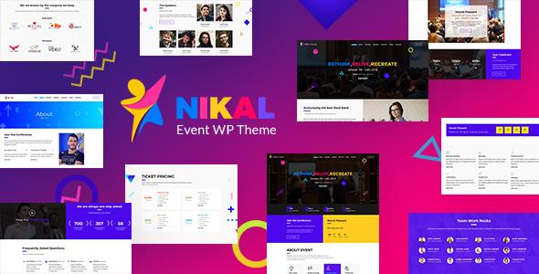 Nikal - Exhibition, Seminar & WordPress Event Theme