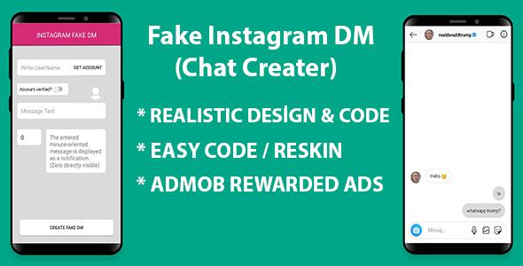 Maker online fake instagram chat #No1 Fake
