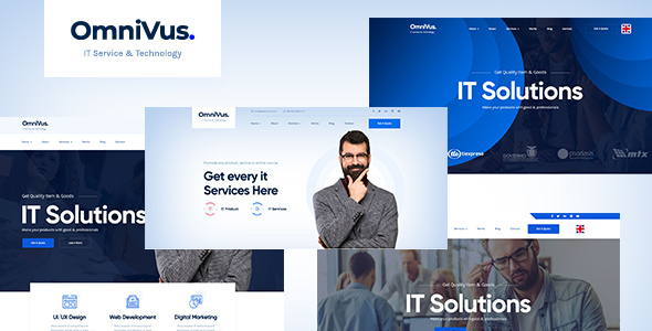 Omnivus - IT Solutions & Services HTML5 Template by Webtend
