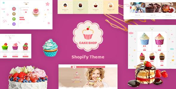 Cake Shop – Cafe Shopify Theme