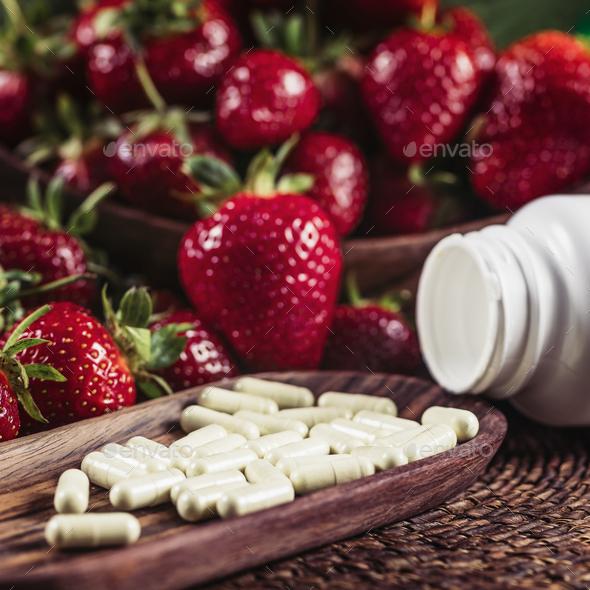 Fisetin Dietary Supplement - Stock Photo - Images