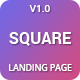 Free Download Square - Premium High Converting SaaS Landing Page Template Nulled