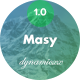 Free Download Masy - Responsive Email + Online Template Builder Nulled