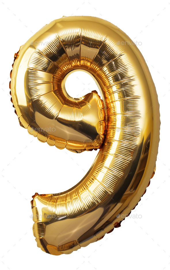 Balloons Numbers - Stock Photo - Images