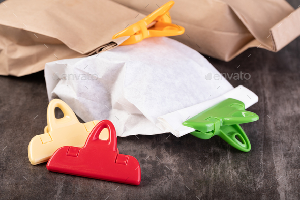 bag clip - Stock Photo - Images