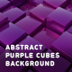 Abstract Purple Cubes Background - VideoHive Item for Sale