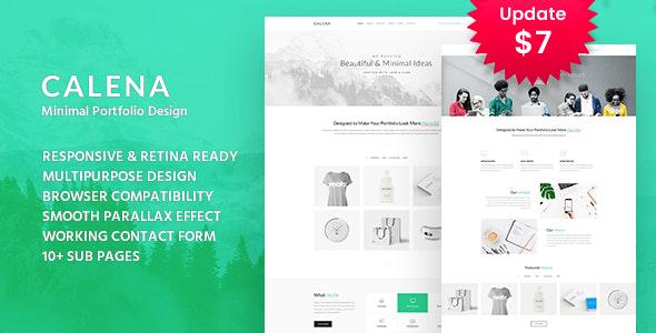 Calena - Minimal Digital Agency HTML Template