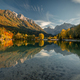 Lake Jasna on a beautiful autumn evening - PhotoDune Item for Sale