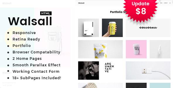 Walsall - Minimal Digital Agency HTML Template