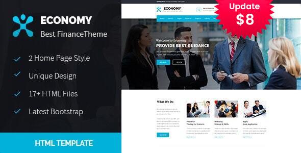 Economy - Finance & Business HTML Template