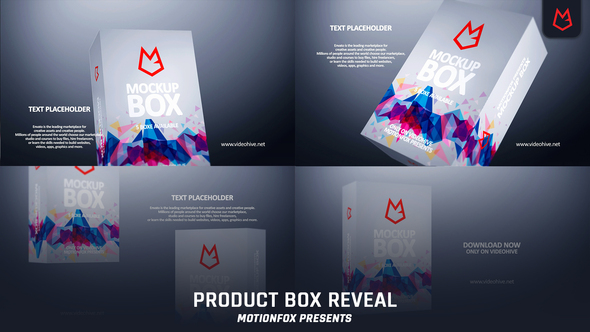 Product Box Reveal Download