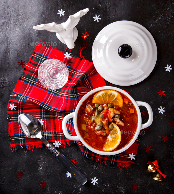 Christmas Soup - Stock Photo - Images