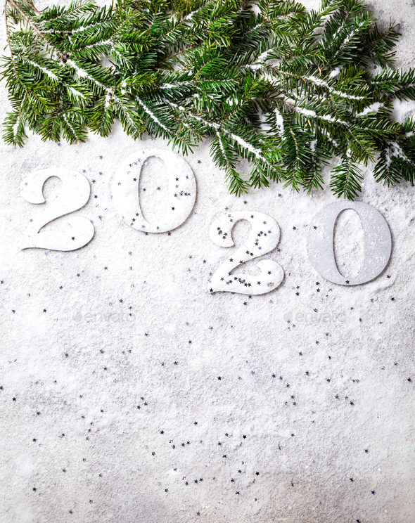 Idea Happy New Year 2020. - Stock Photo - Images