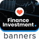 Finance Investment Ad Banners