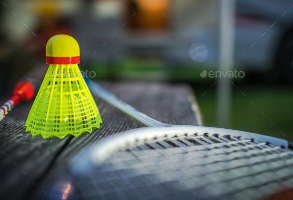 Badminton Racquet Sport - Stock Photo - Images