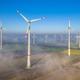 Aerial view of wind turbines - PhotoDune Item for Sale