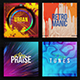 4in1 Music Album Cover - Bundle 9