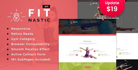 Fitnastic | Gym & Fitness WordPress Theme