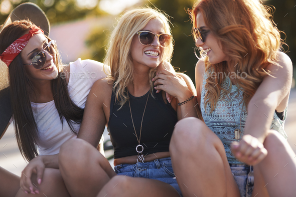 My best friends are always around me - Stock Photo - Images