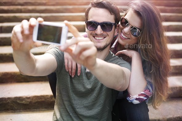 First, let me take a selfie - Stock Photo - Images