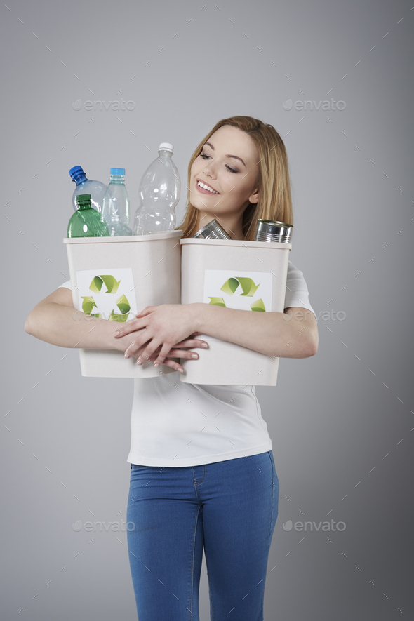 Recycling of waste is very necessary for environment - Stock Photo - Images