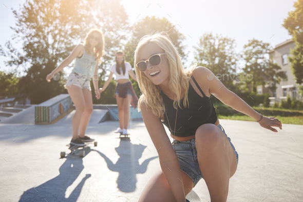 With my best friends no time is wasted - Stock Photo - Images