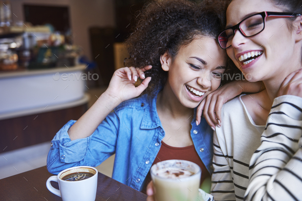So much fun gives us friendship - Stock Photo - Images