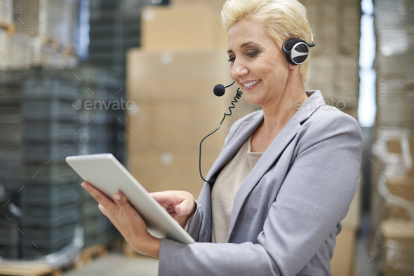Wireless Internet is indispensable here - Stock Photo - Images