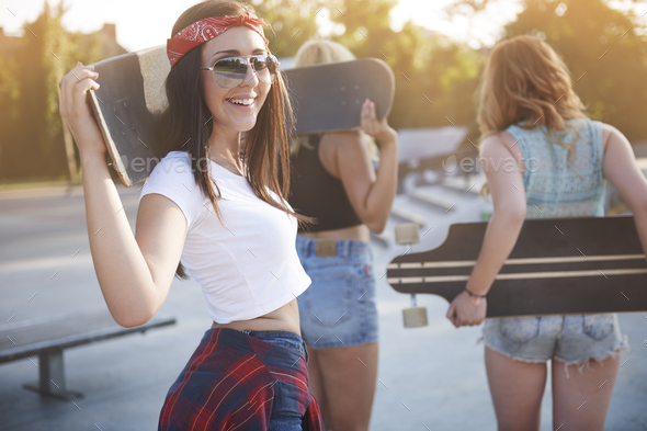 Summer only with my best friends - Stock Photo - Images