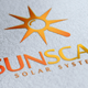 Sun Scan Logo - GraphicRiver Item for Sale