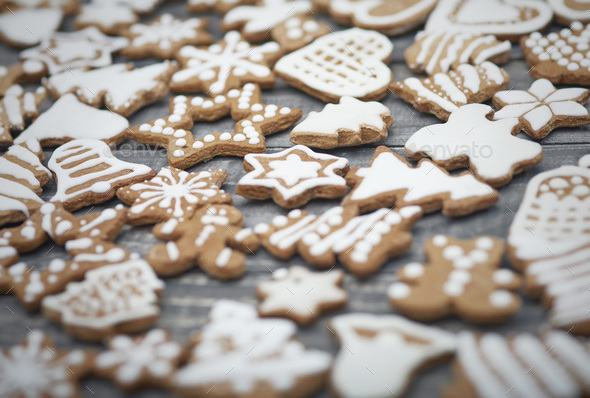 All of cookies are ready to be eaten - Stock Photo - Images