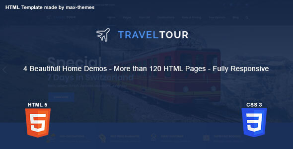 Travel Tour - HTML Template
