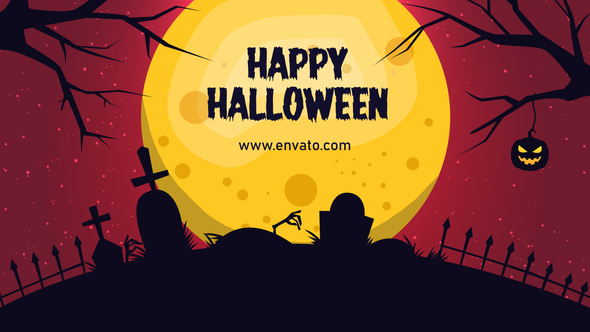 Halloween Night | Spooky Title Download