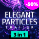 Elegant Particles Trailer - VideoHive Item for Sale