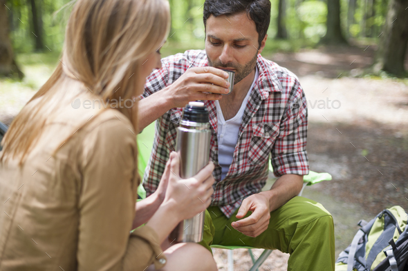 There is nothing better than hot tea - Stock Photo - Images