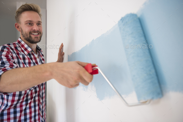 This is the shade of blue I have always wanted - Stock Photo - Images