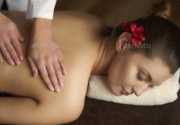 Massage as good way to relax - Stock Photo - Images