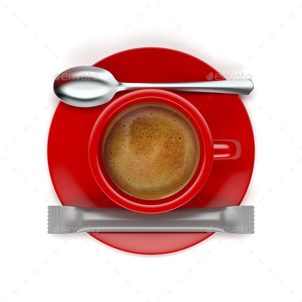 Aromatic espresso coffee - Stock Photo - Images