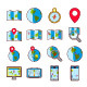 Geolocation - Color Icon Set